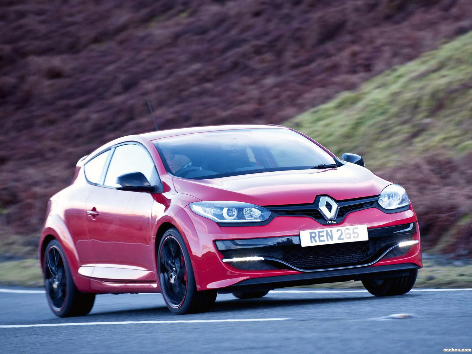 Foto 2 de Renault Megane R.S. 265 UK 2014