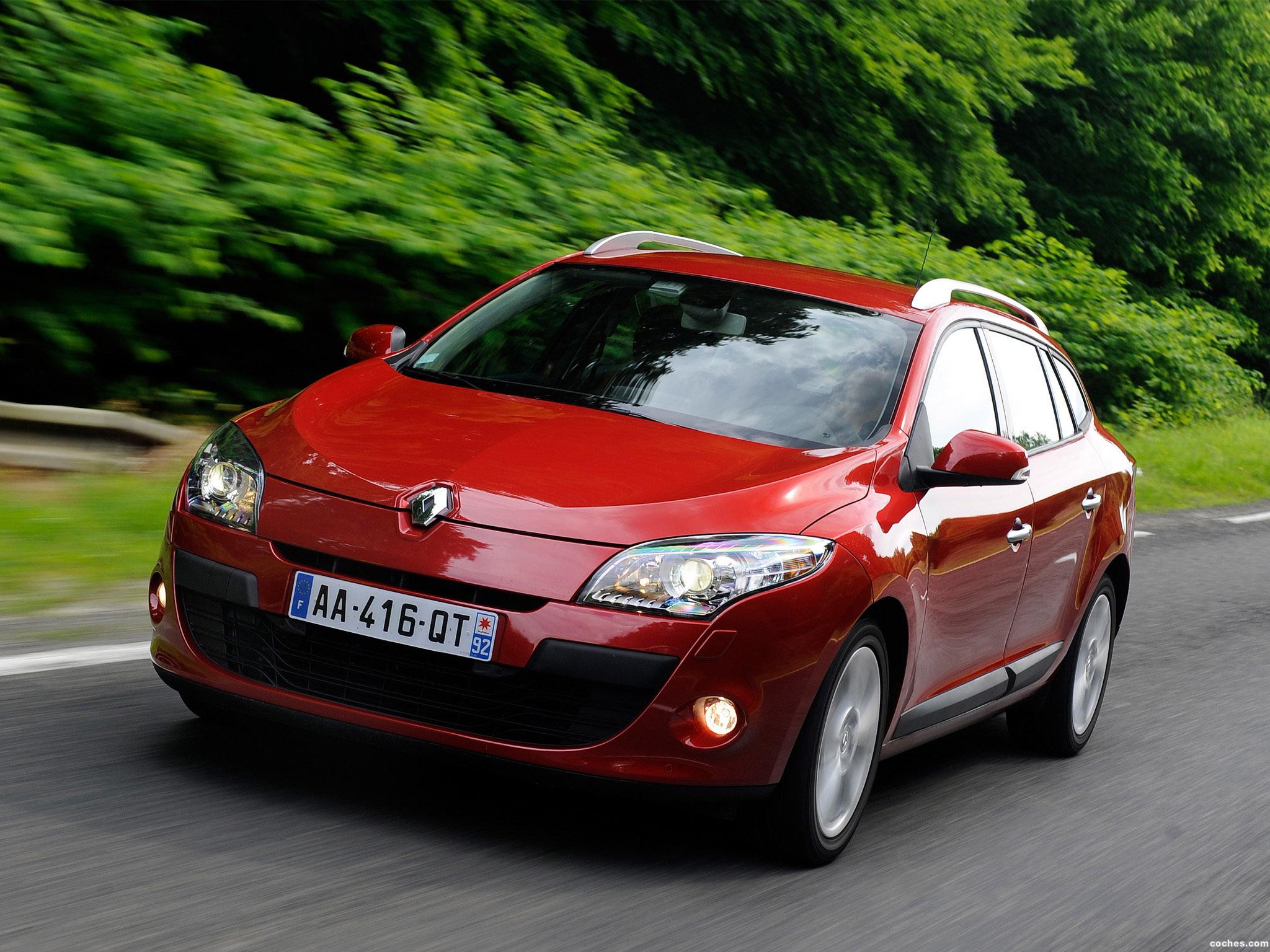 Foto 2 de Renault Megane Sports Tourer 2009