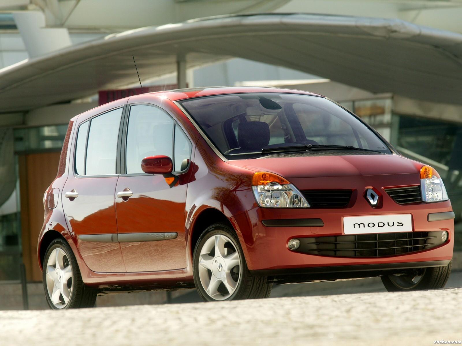 Foto 2 de Renault Modus 2004