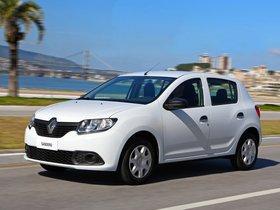 Ver foto 2 de Renault Sandero Authentique Brasil 2014