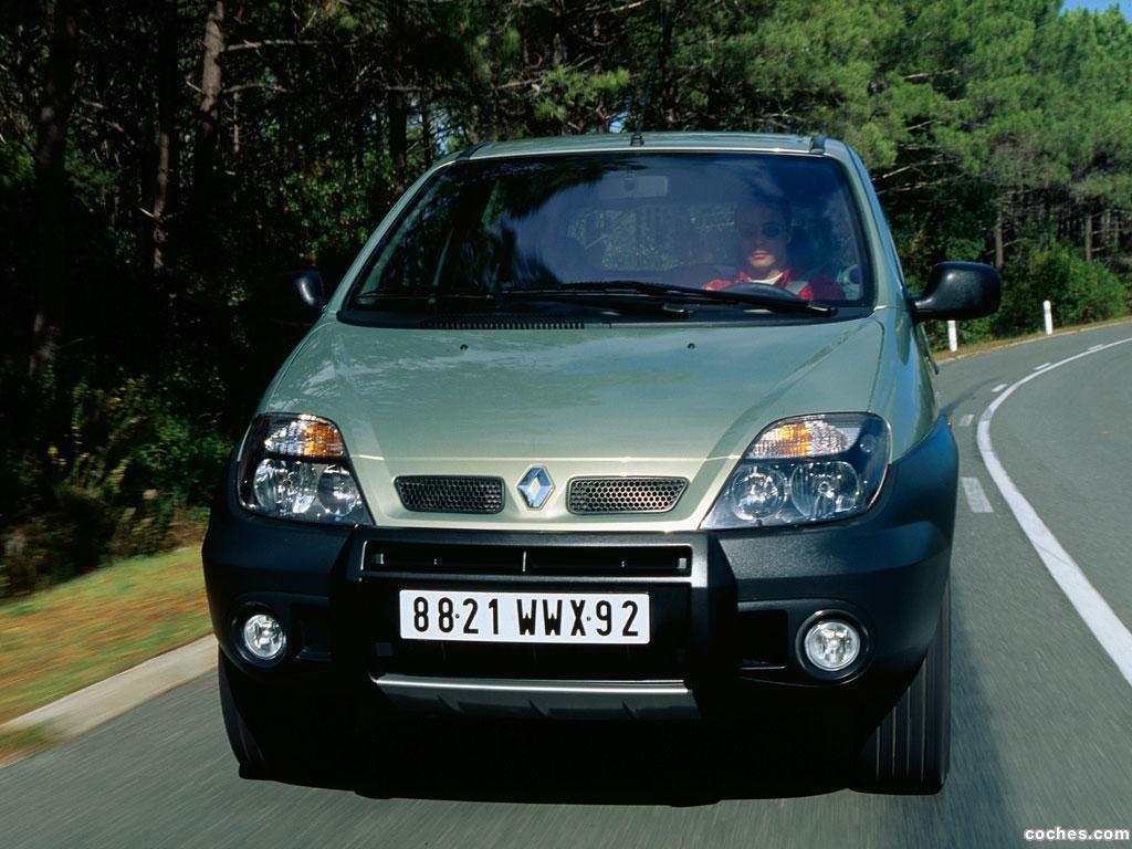 Foto 13 de Renault Scenic RX4 2000