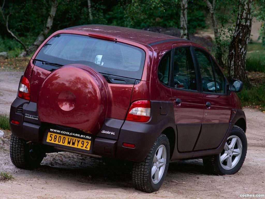Foto 7 de Renault Scenic RX4 2000