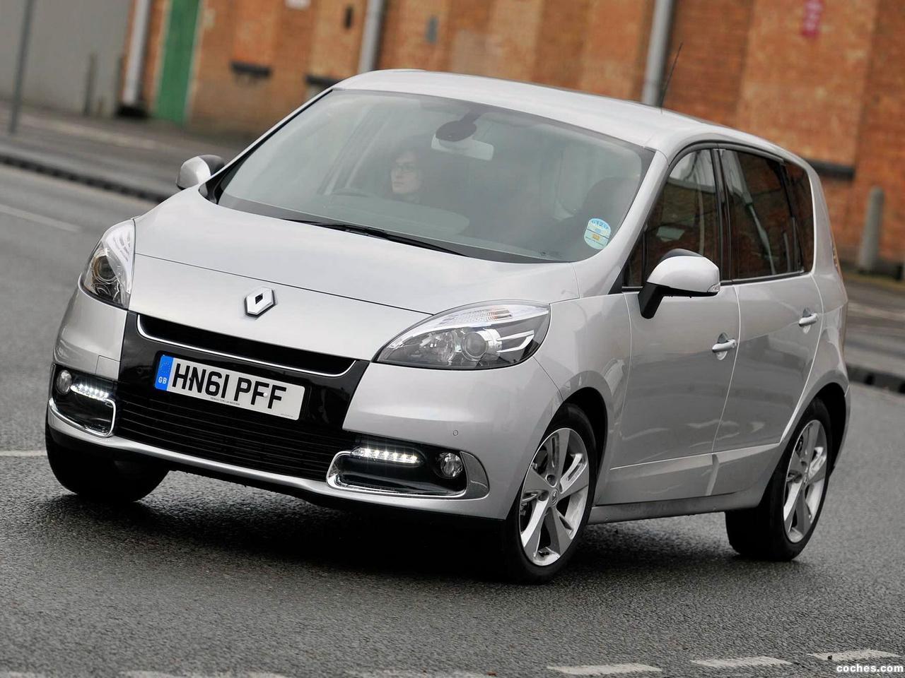 Foto 3 de Renault Scenic UK 2012