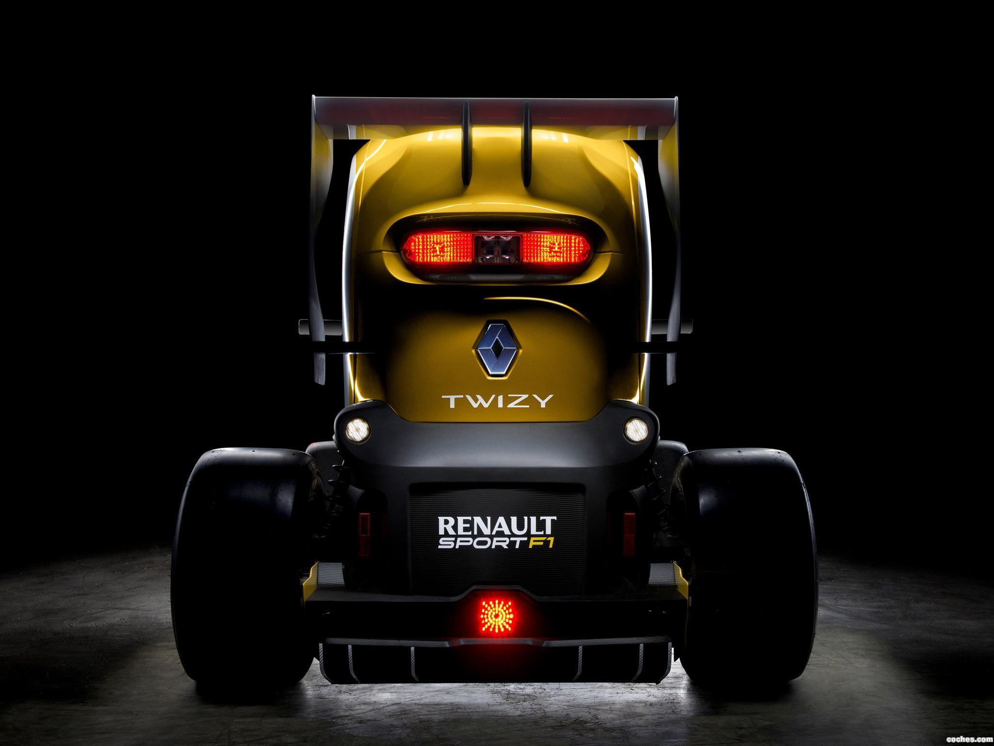 Foto 1 de Renault Twizy RS F1 Concept 2013