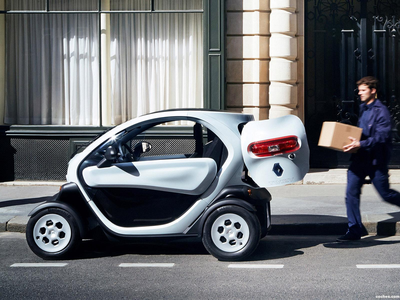 fotos de renault twizy z e cargo 2013 foto 2. Black Bedroom Furniture Sets. Home Design Ideas