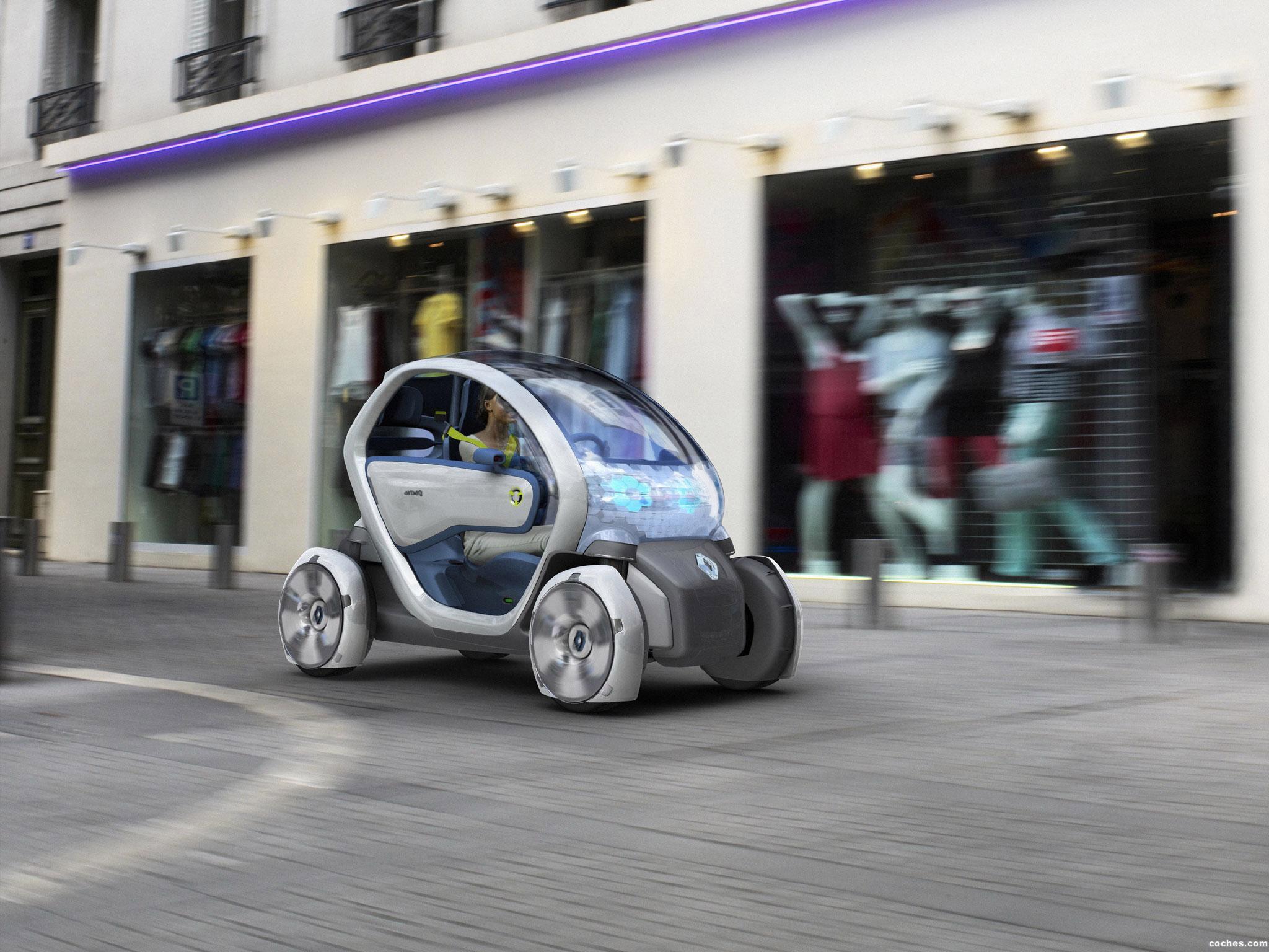 Foto 1 de Renault Twizy Z.E. Concept 2009