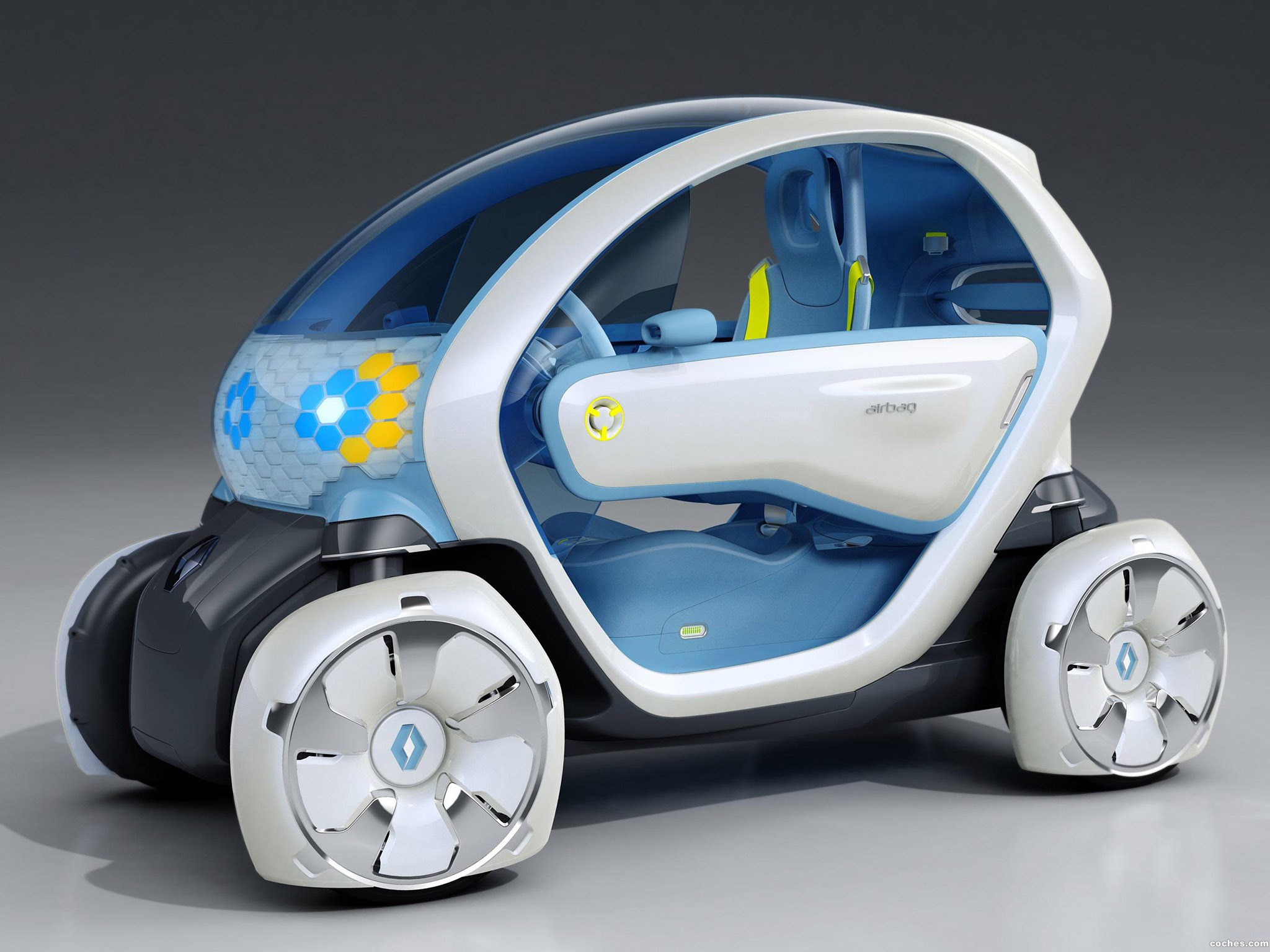 Foto 0 de Renault Twizy Z.E. Concept 2009