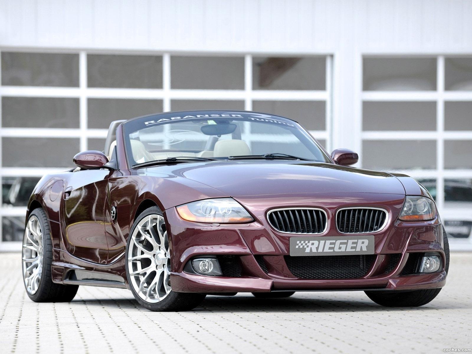 Foto 0 de BMW rieger Z4 Coupe E89 2010