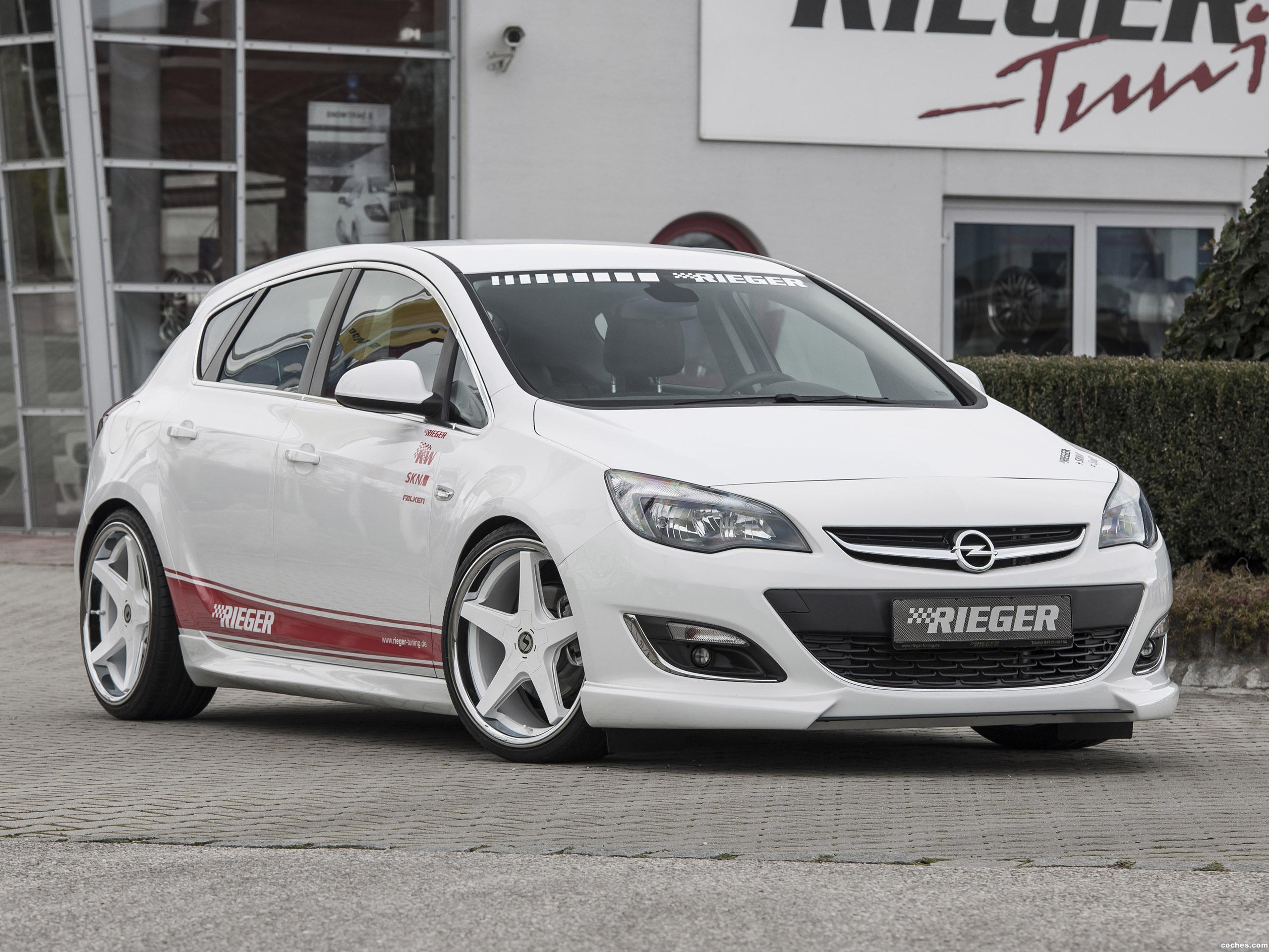 Foto 0 de Rieger Opel Astra 5 puertas 2014