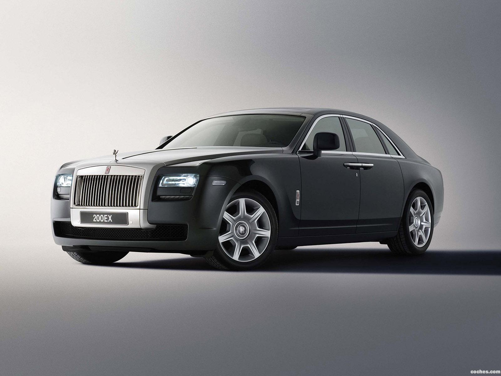 Foto 0 de Rolls Royce 200 EX Concept 2009