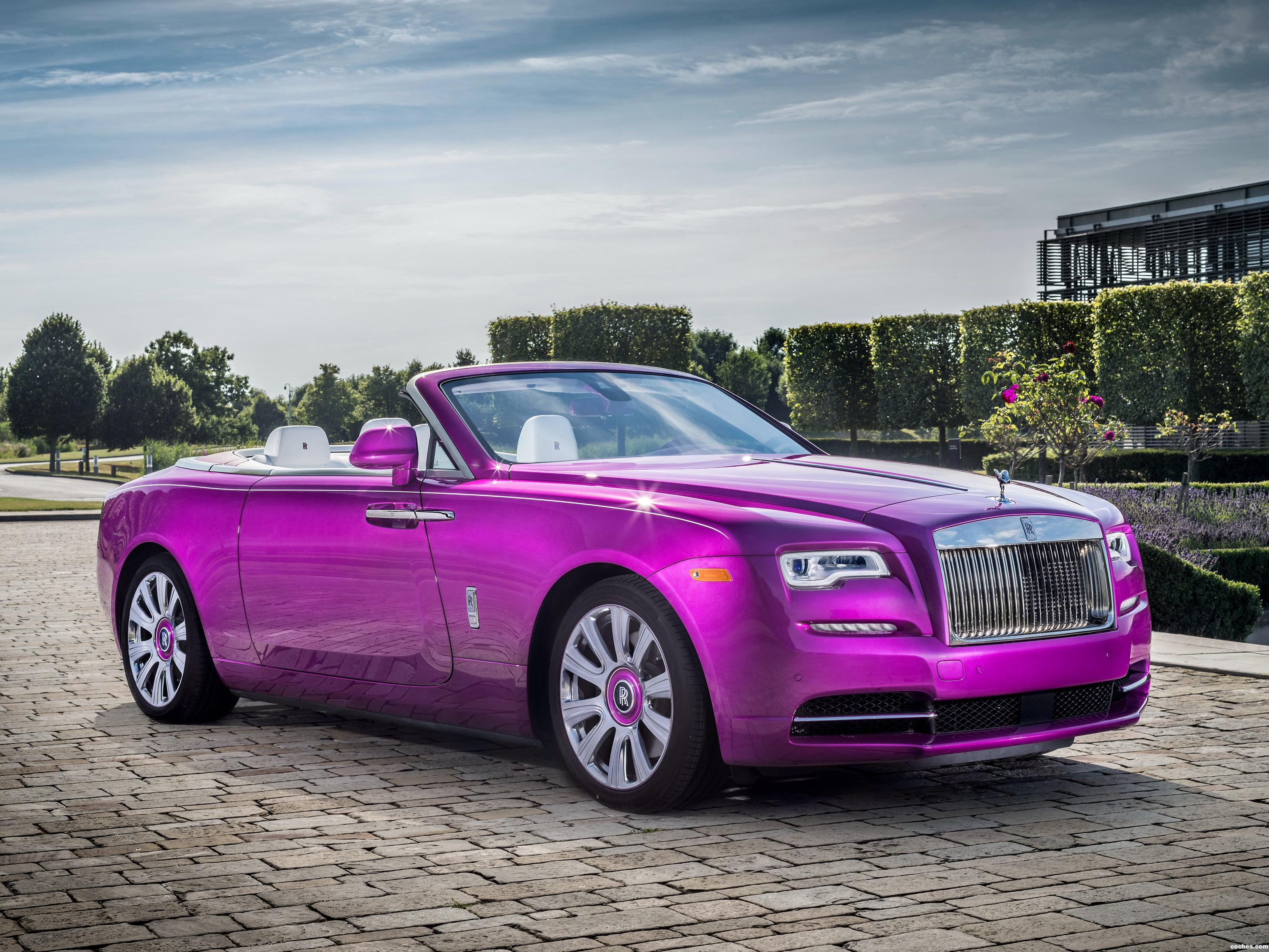 Foto 0 de Rolls Royce Dawn In Fuxia  2017
