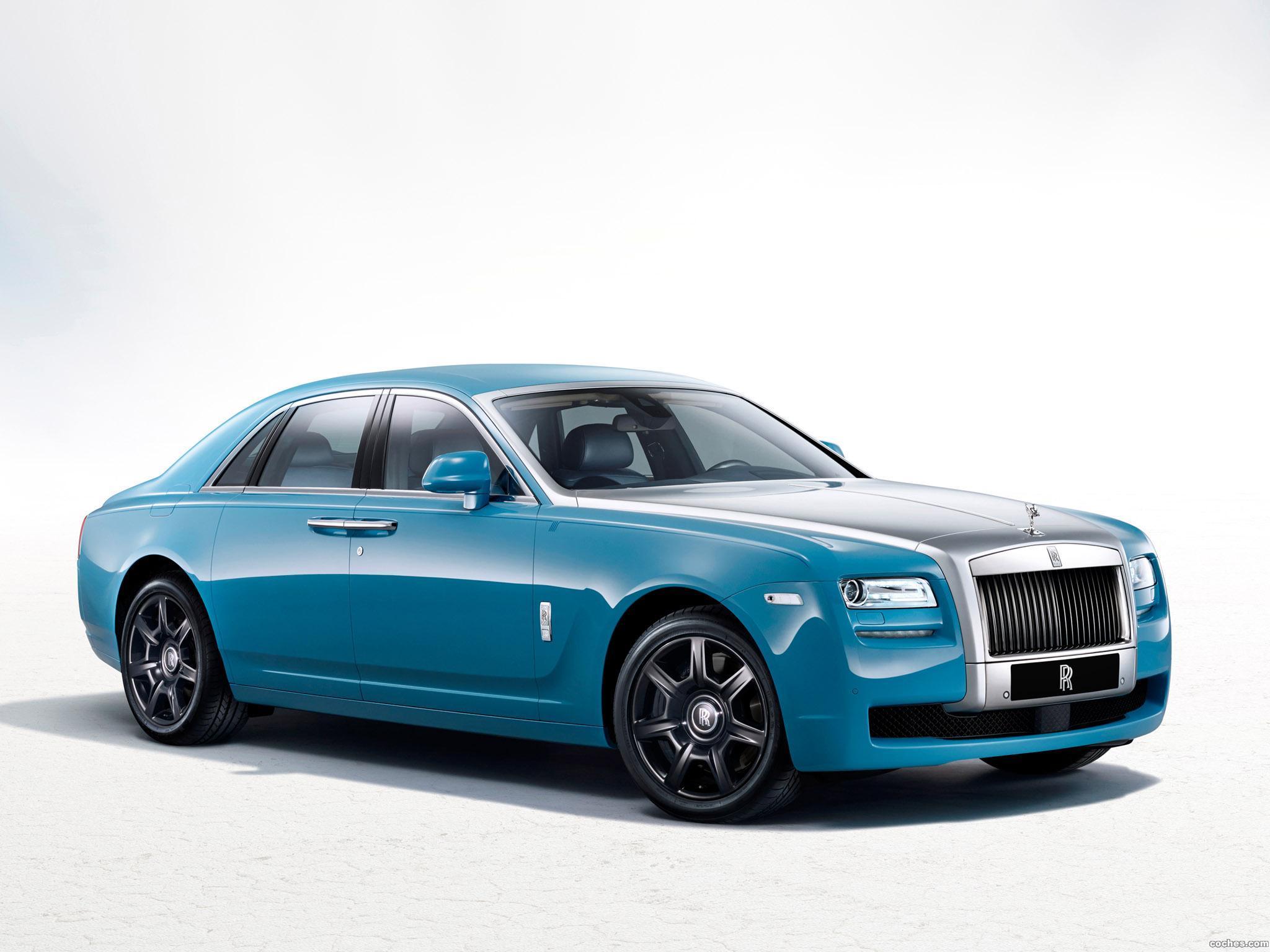 Foto 0 de Rolls Royce Ghost Alpine Trial Centenary Collection 2013