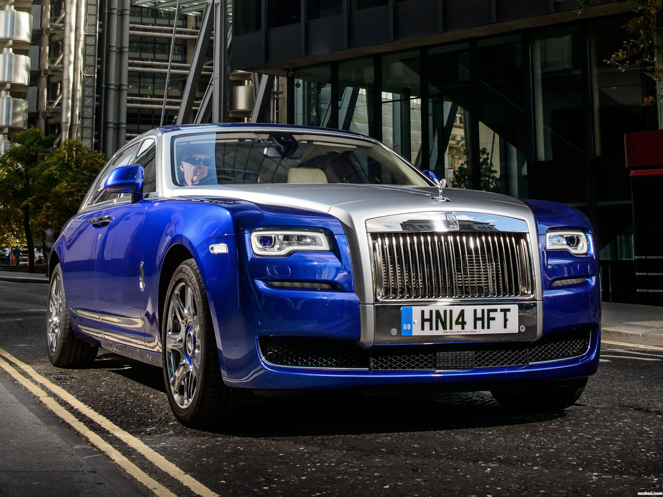 Foto 0 de Rolls Royce Ghost EWB UK 2014
