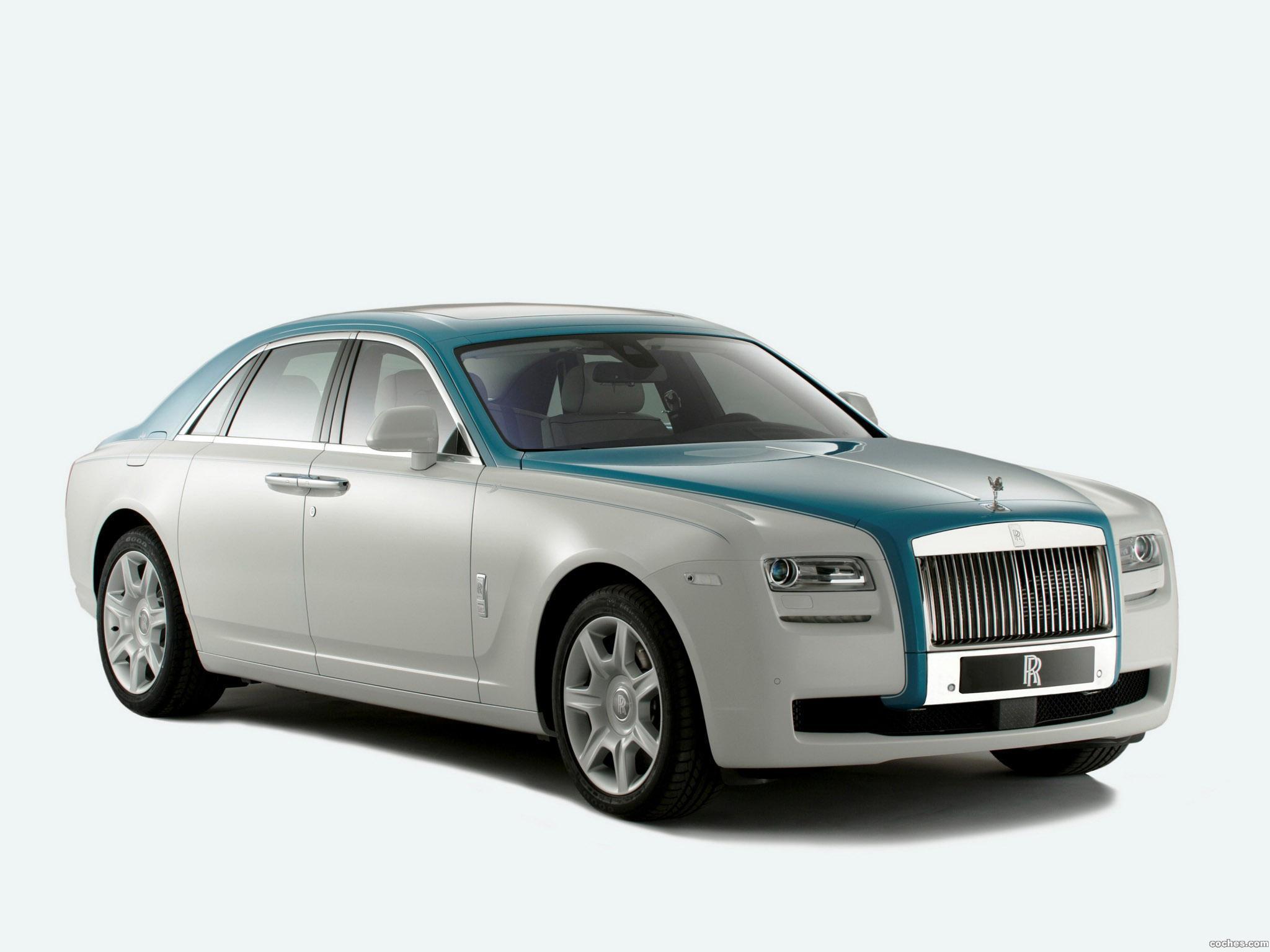 Foto 0 de Rolls Royce Ghost Firnas Motif 2012