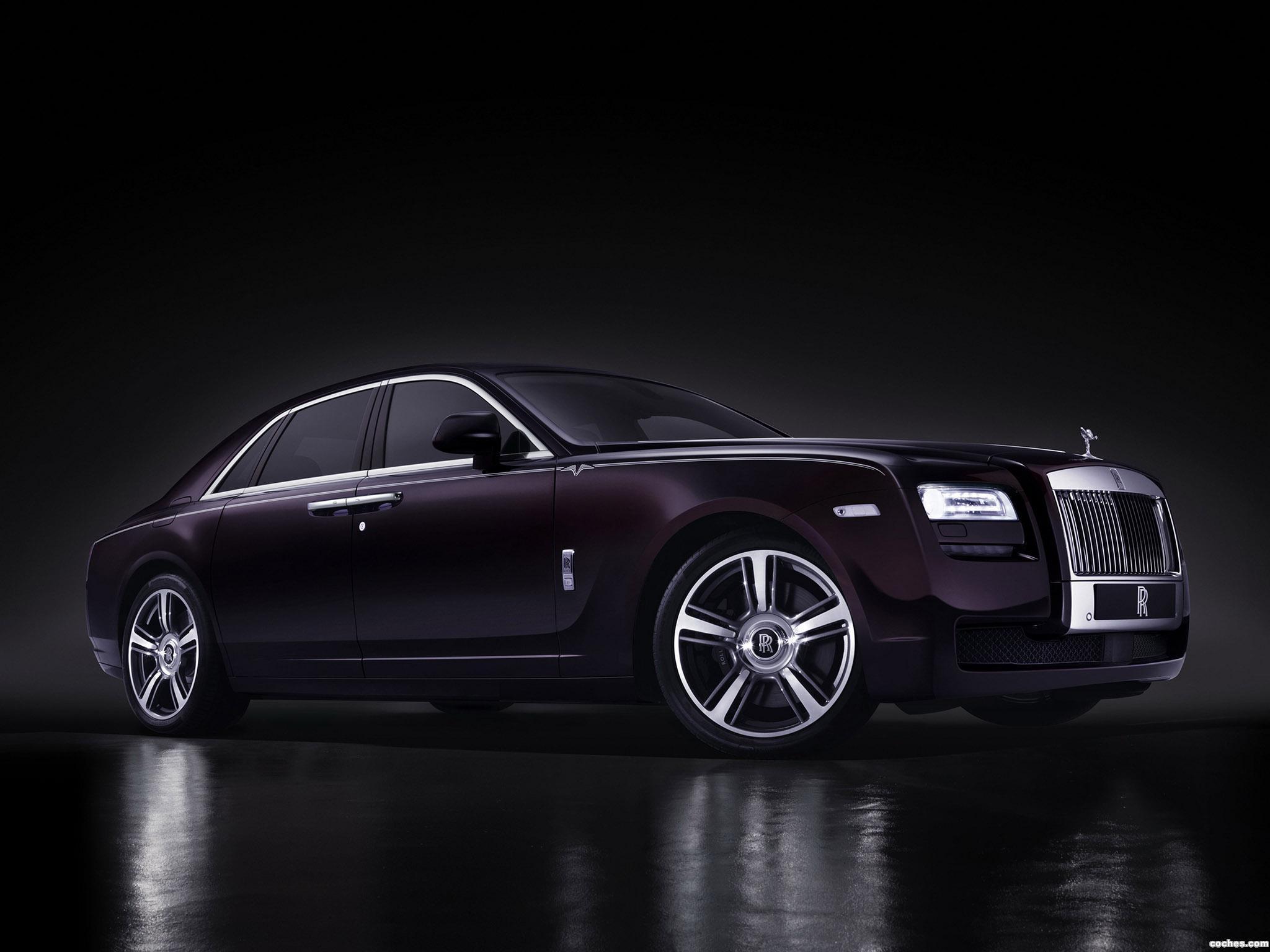Foto 1 de Rolls Royce Ghost V Specification 2014