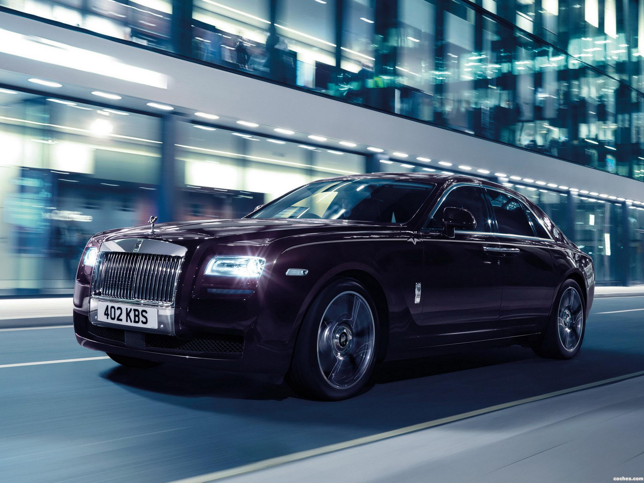 Foto 0 de Rolls Royce Ghost V Specification 2014