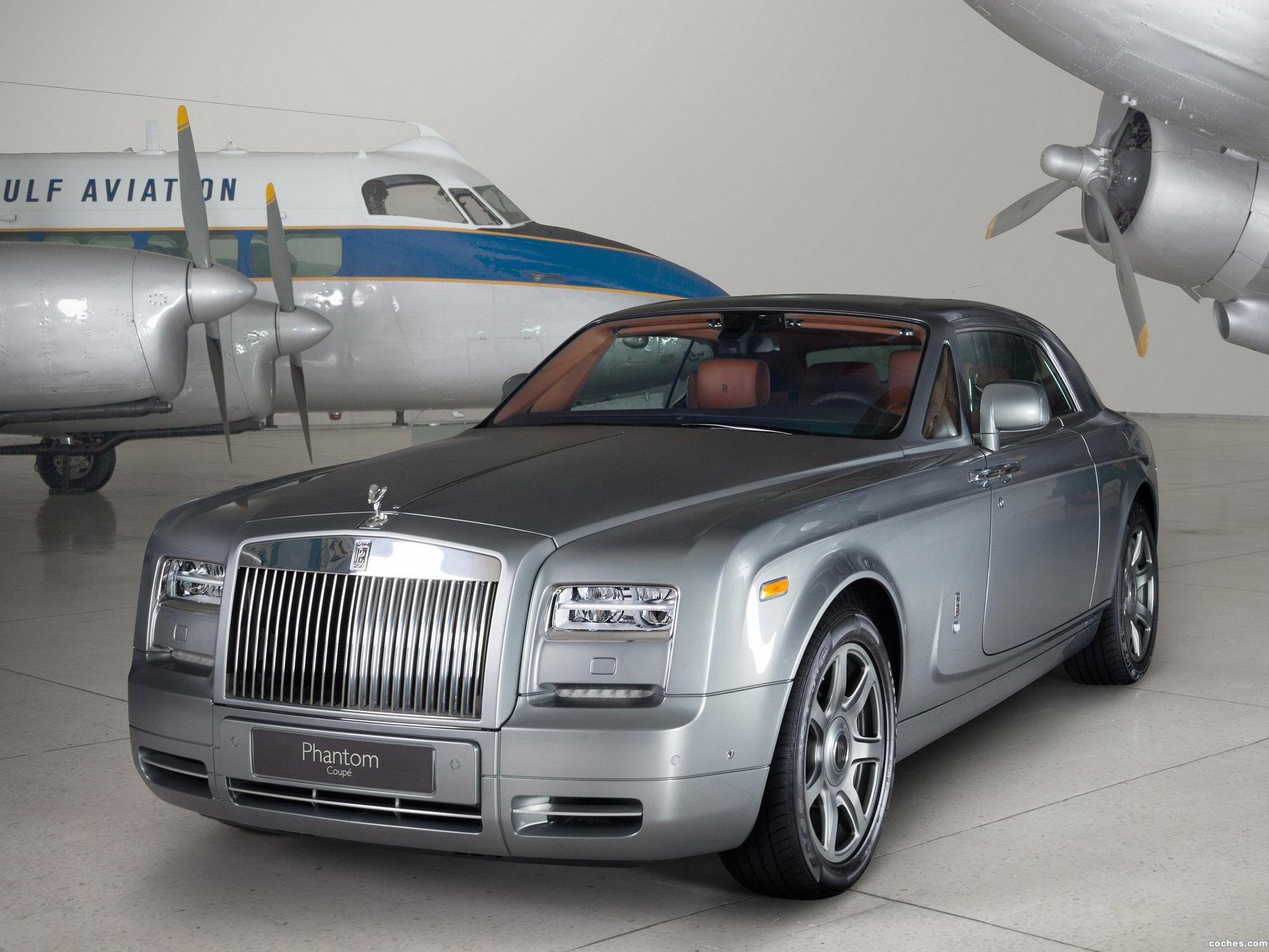 Foto 0 de Rolls Royce Phantom Coupe Aviator Collection 2012