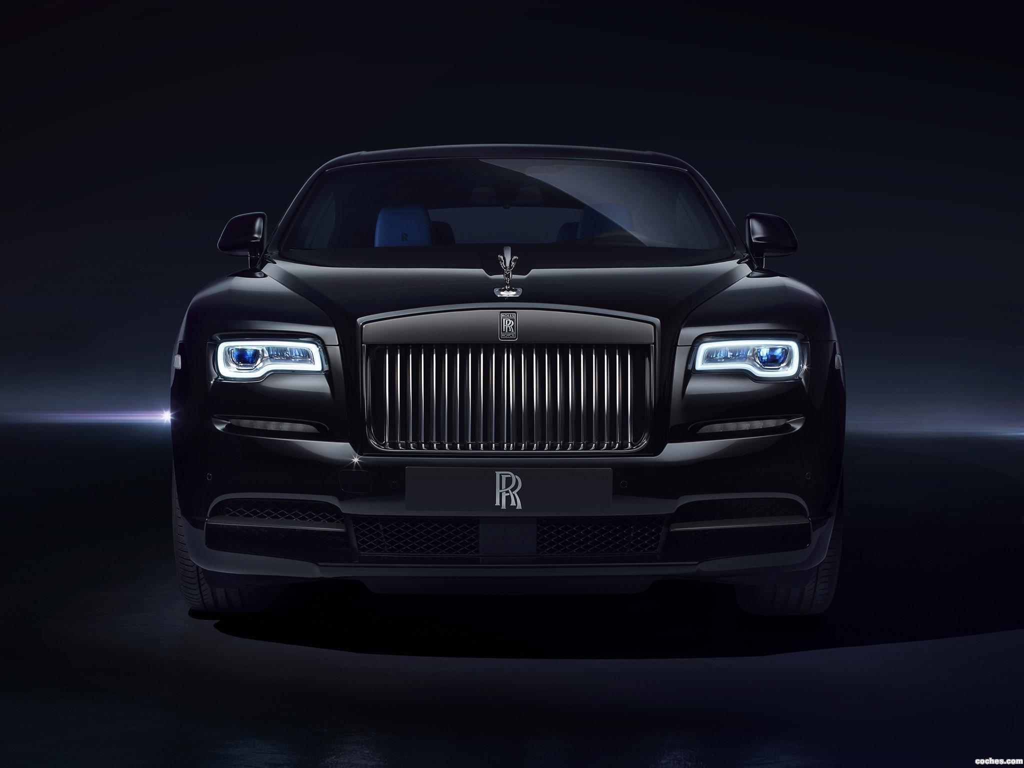 Foto 0 de Rolls Royce Wraith Black Badge 2016