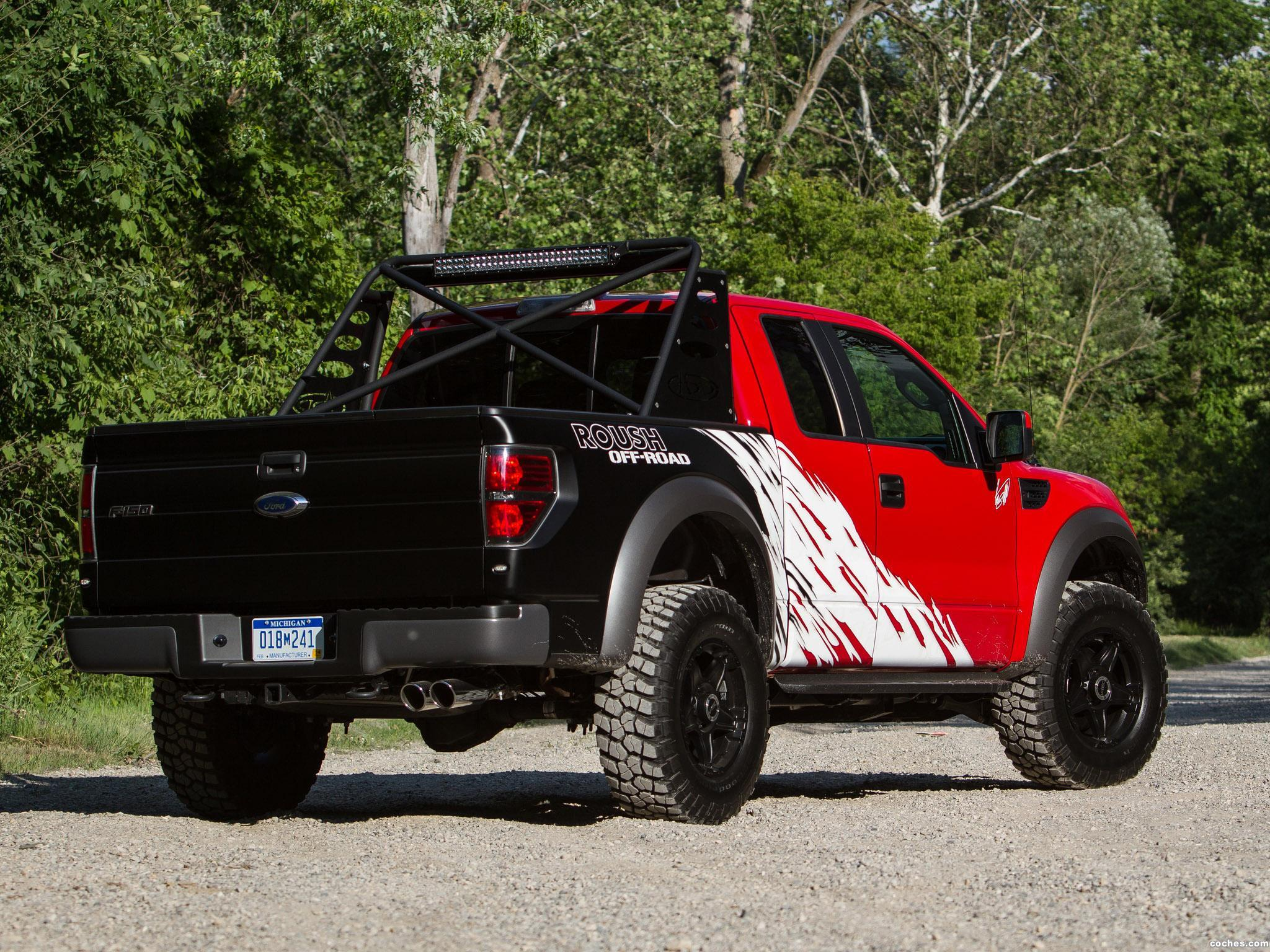 Foto 16 de Ford Roush F-150 SVT Raptor by Greg Biffle  2012