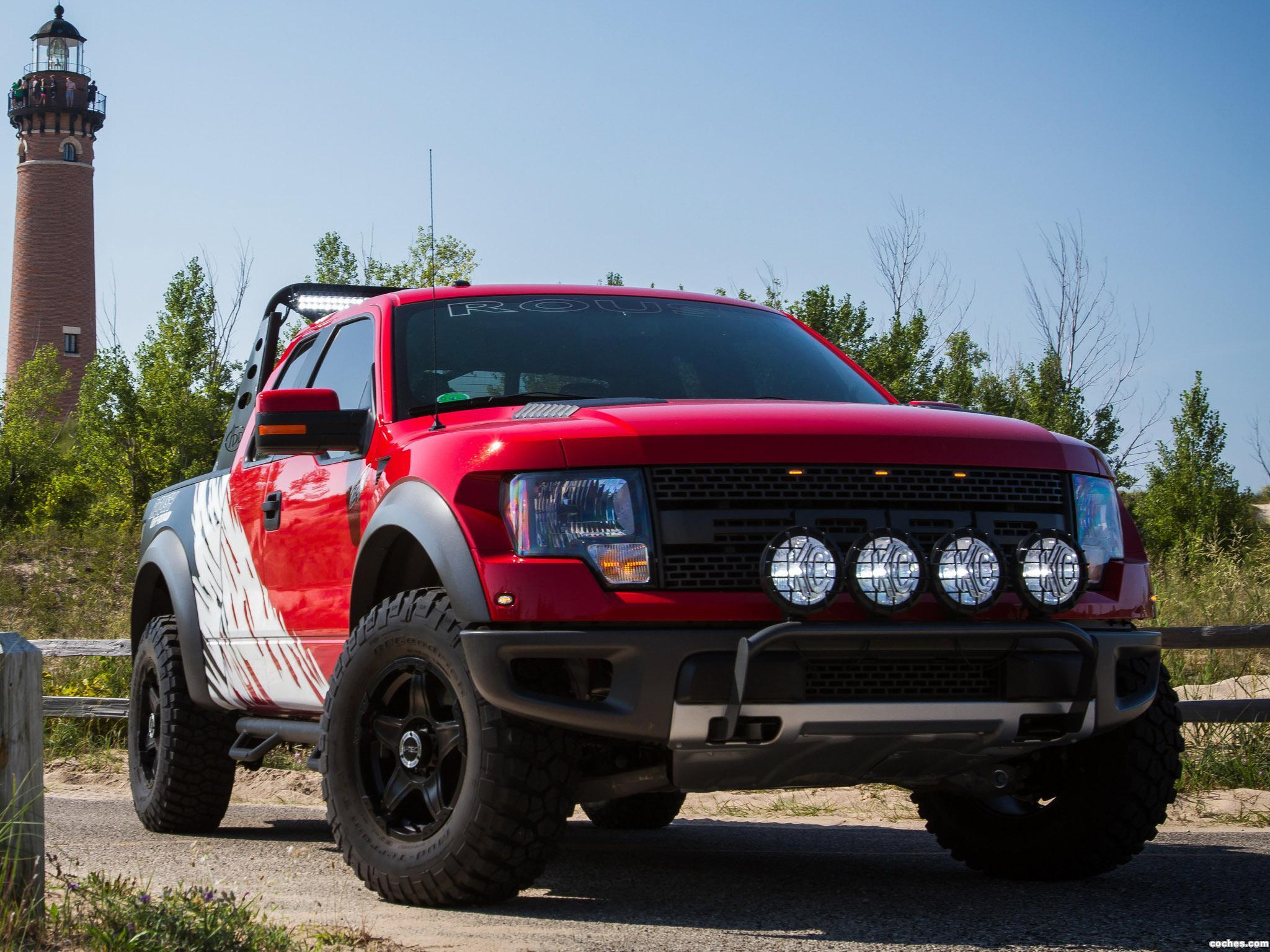 Foto 8 de Ford Roush F-150 SVT Raptor by Greg Biffle  2012