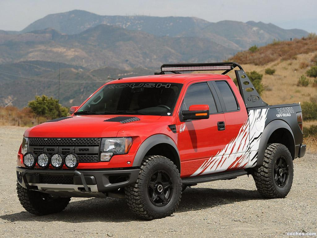 Foto 0 de Ford Roush F-150 SVT Raptor by Greg Biffle  2012