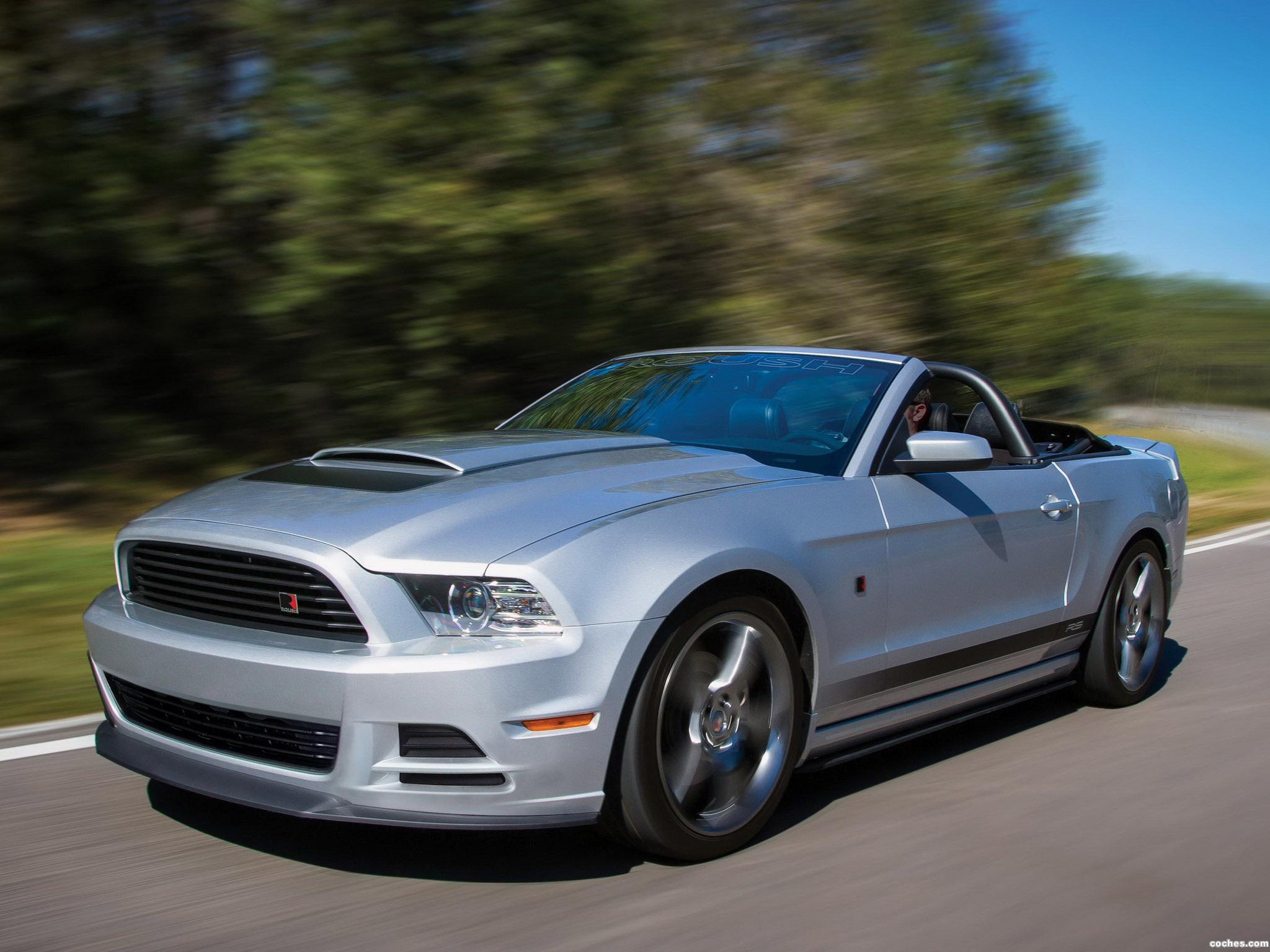 Foto 0 de Roush Ford Mustang RS Convertible 2013