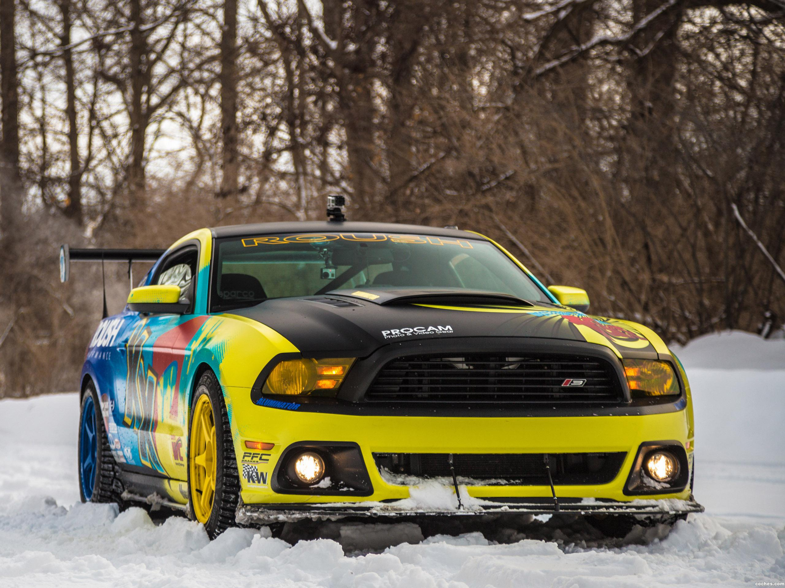 Foto 0 de Ford Mustang RS3 Pirelli World Challenge Race Car  2014
