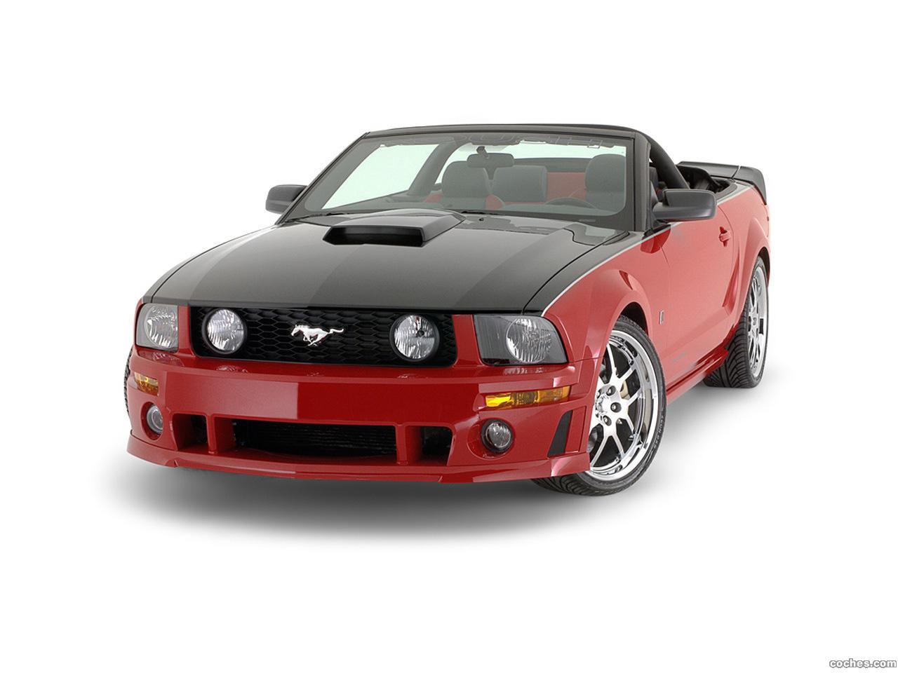 Foto 0 de Roush Ford Mustang Roadster 2007