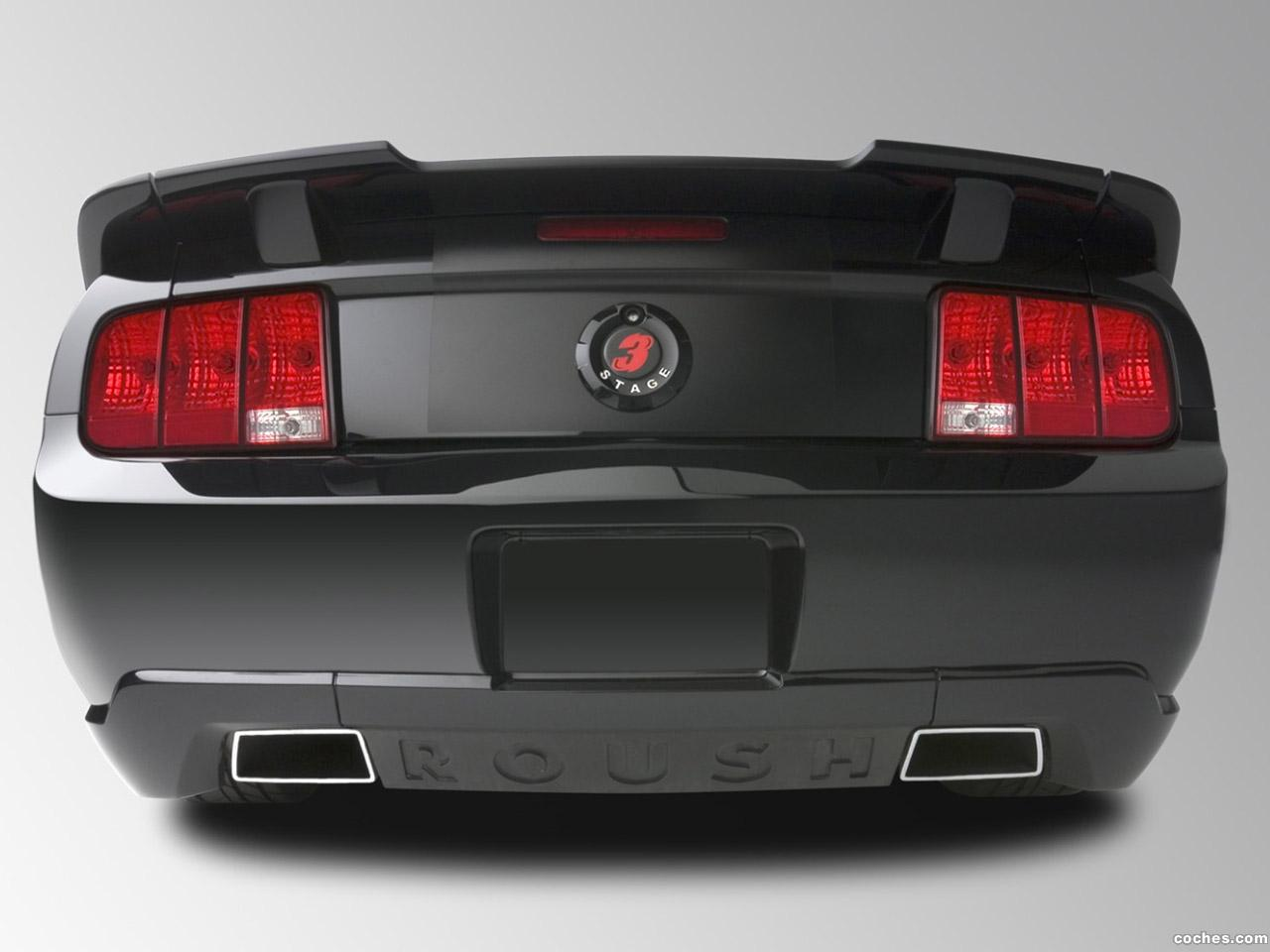 Foto 3 de Roush Ford Mustang Stage 3 Blackjack 2008