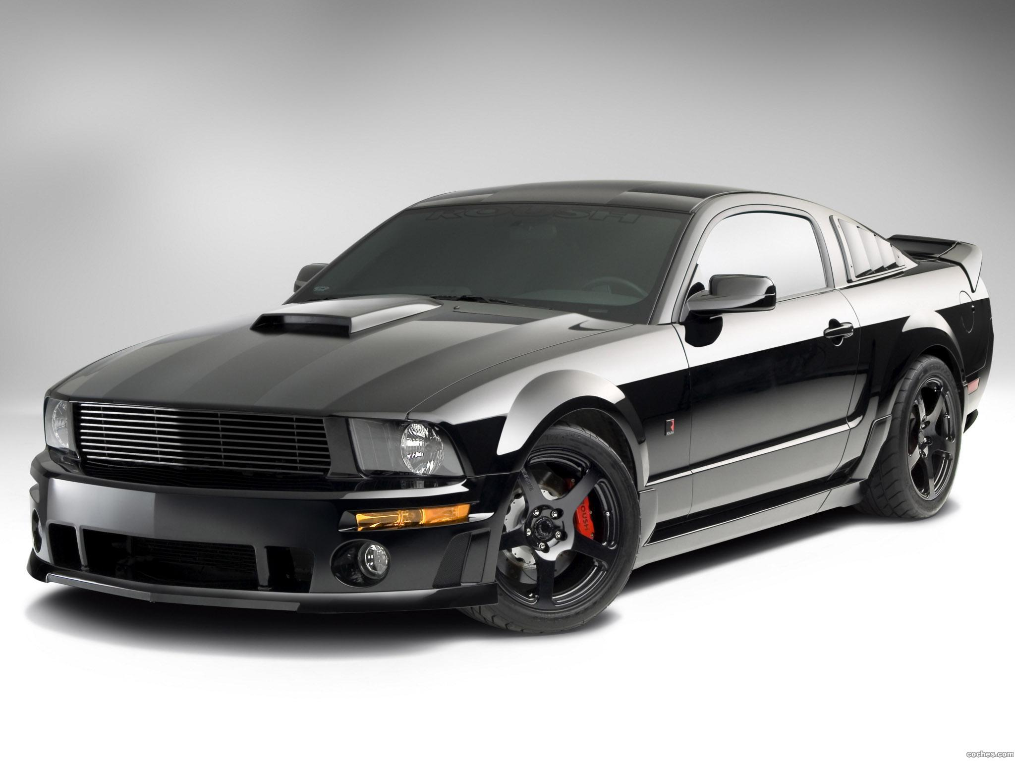 Foto 1 de Roush Ford Mustang Stage 3 Blackjack 2008