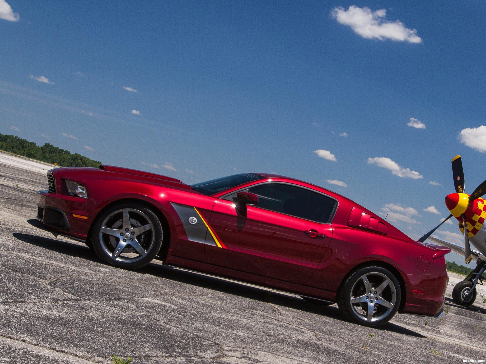 Foto 4 de Roush Ford Mustang Stage 3 Premier Edition 2013