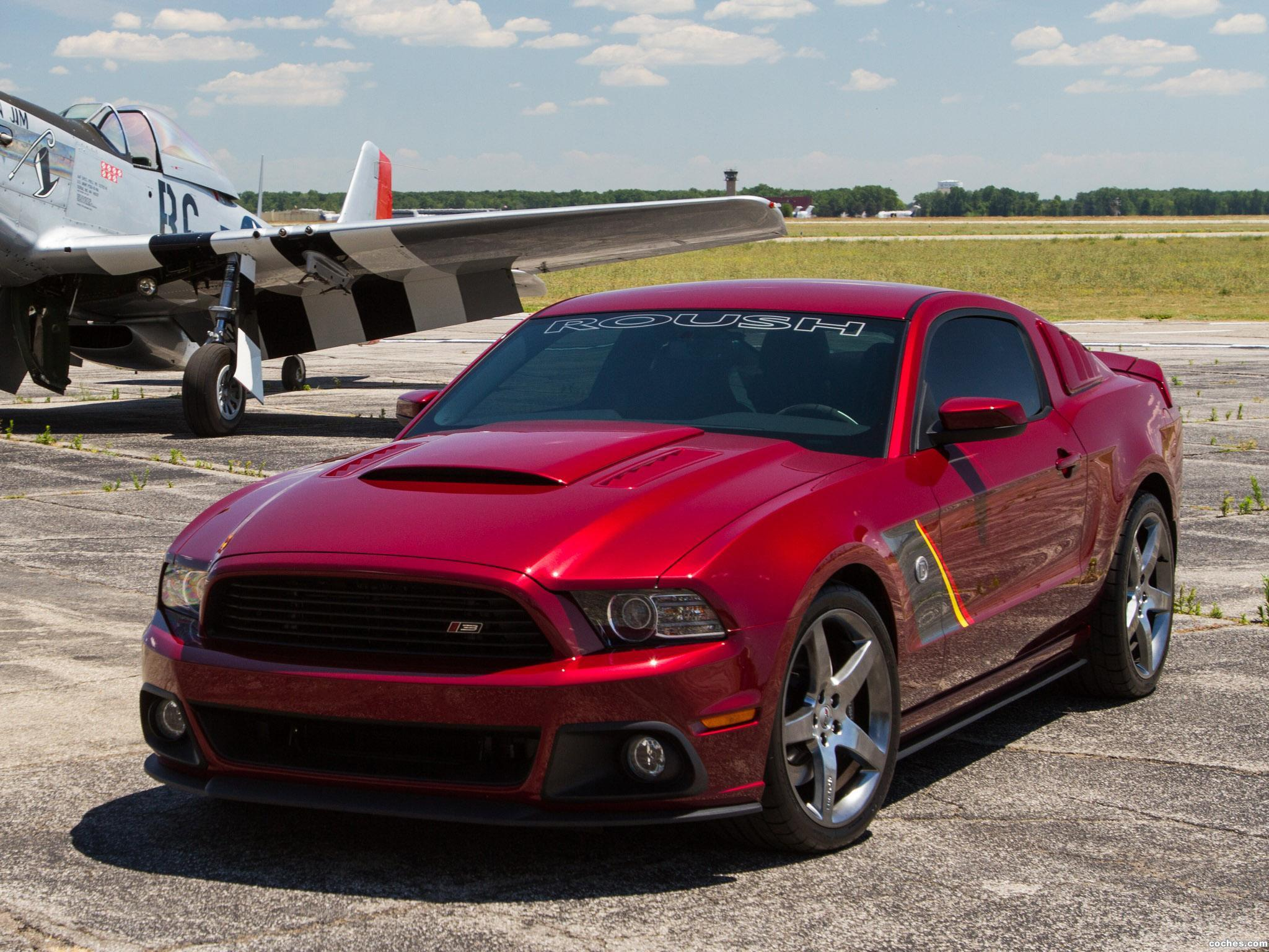Foto 1 de Roush Ford Mustang Stage 3 Premier Edition 2013