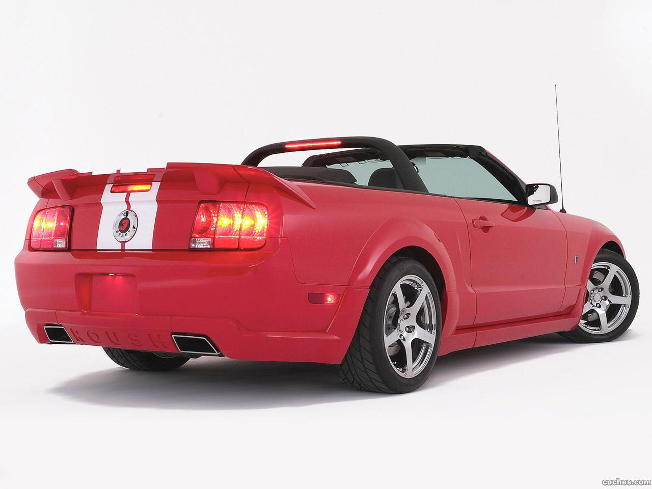 Foto 4 de Ford Roush Mustang Stage 3 Roadster 2006