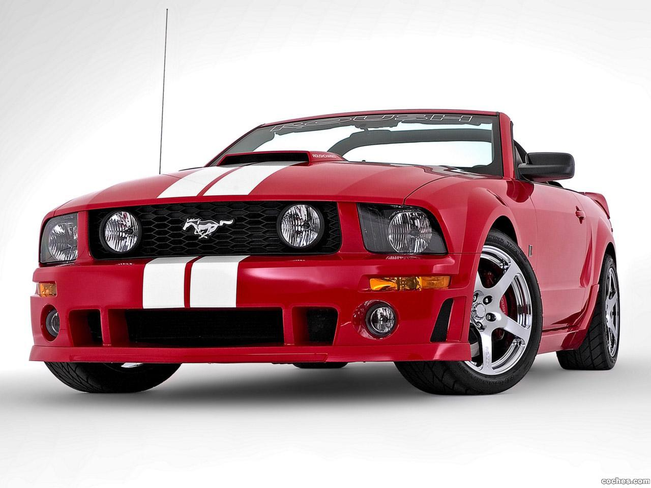 Foto 0 de Ford Roush Mustang Stage 3 Roadster 2006
