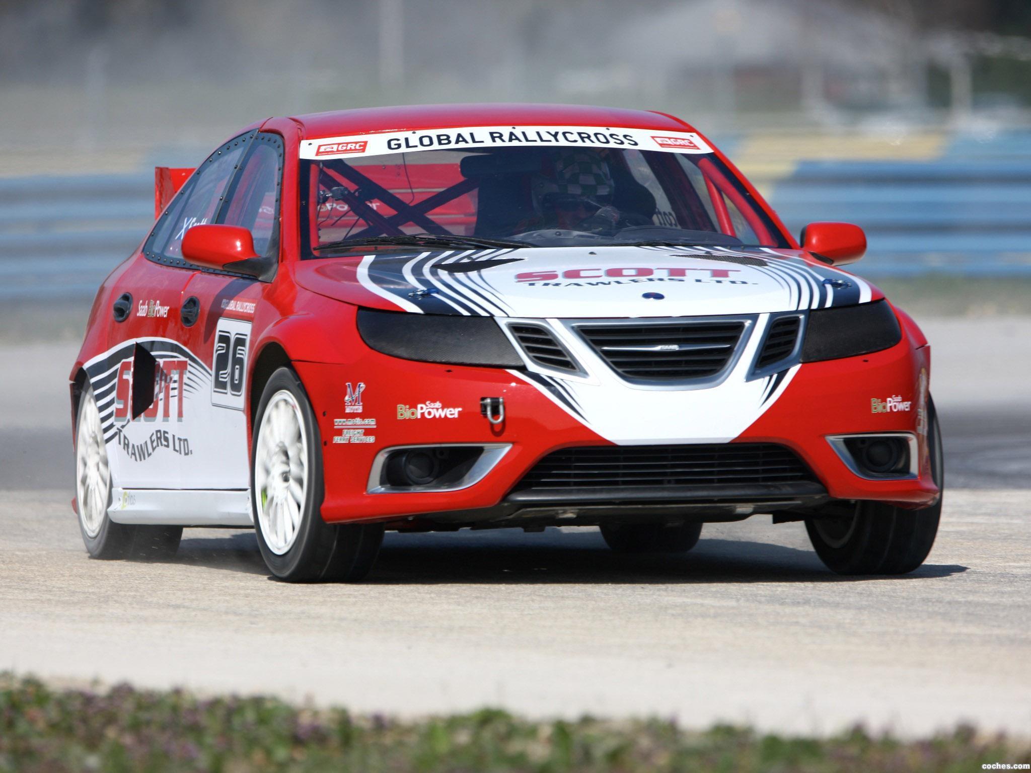 Foto 0 de Saab 9-3 Rallycross 2010