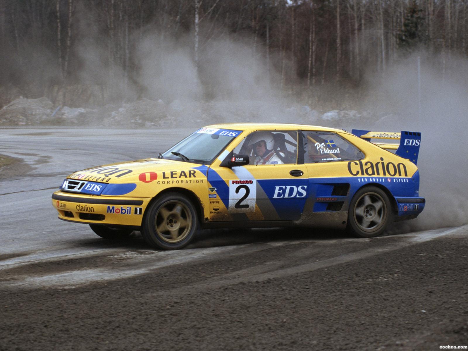 Foto 0 de Saab 9-3 Turbo Rallycross 2003