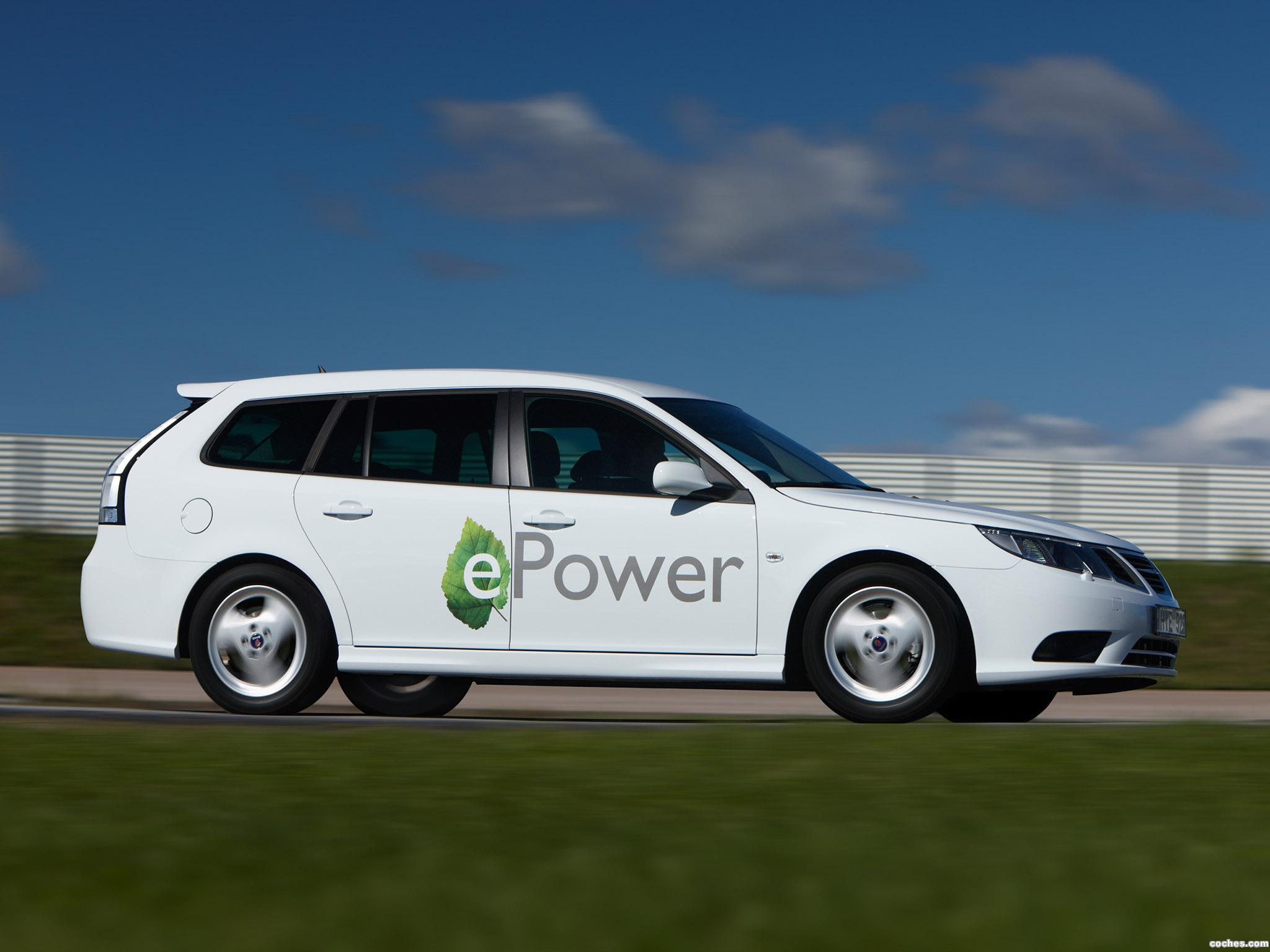 Foto 2 de Saab 9-3 ePower Concept 2010