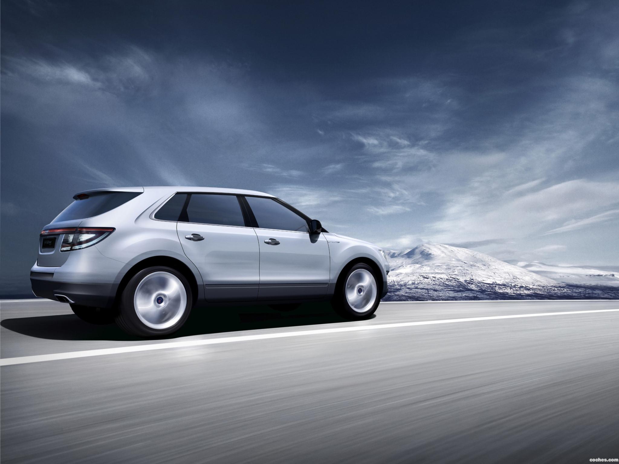 Foto 6 de Saab 9-4X BioPower Concept 2008