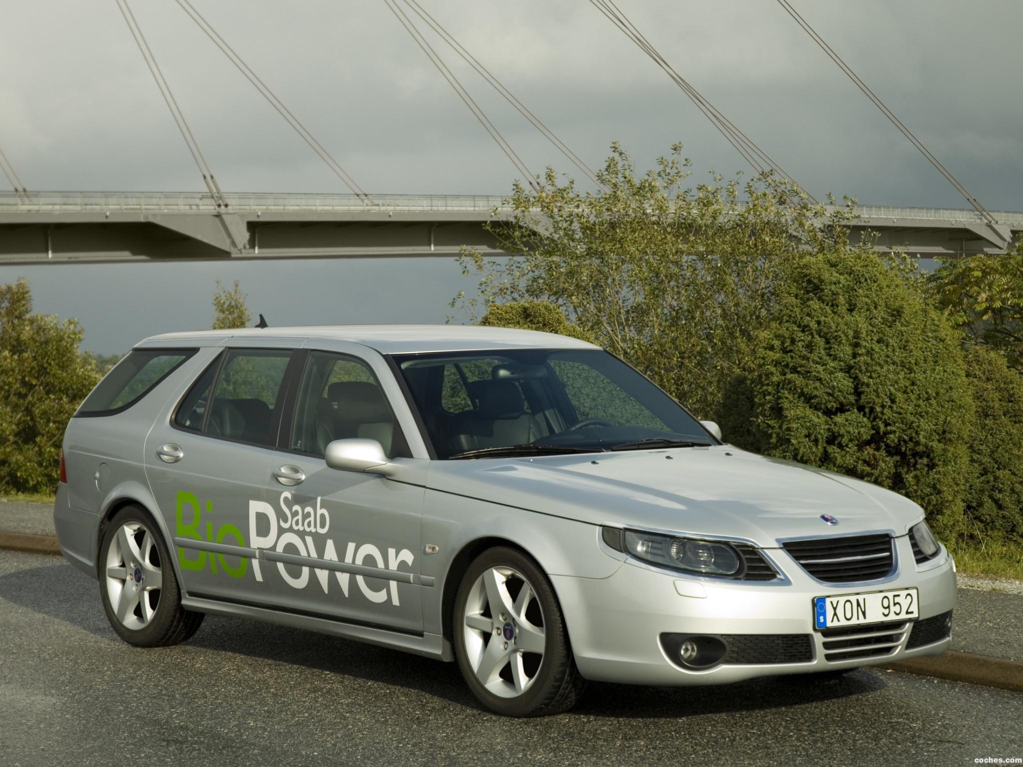 Foto 0 de Saab 9-5 BioPower Combi 2007