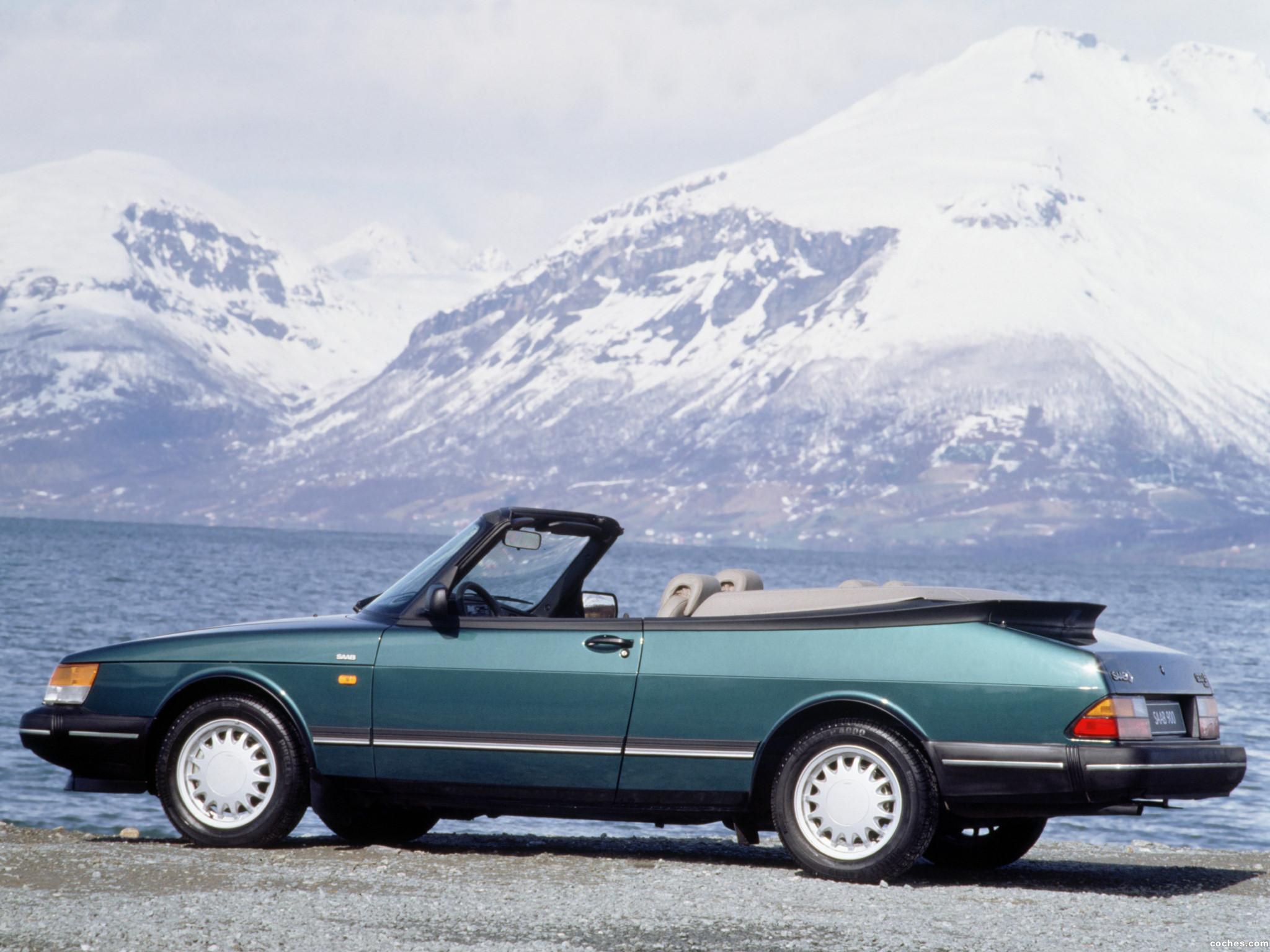 Foto 9 de Saab 900 Convertible 1986