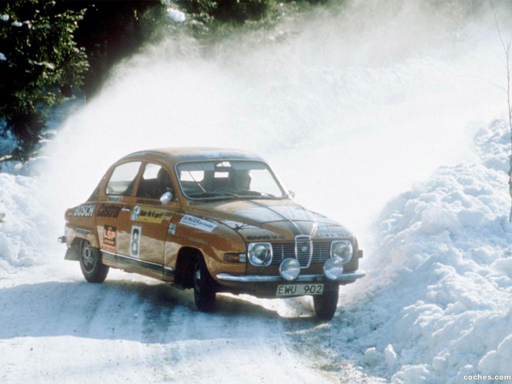 Foto 2 de Saab 96 Rally Car 1969
