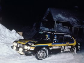 Ver foto 1 de Saab 99 Turbo Rally Car 1980