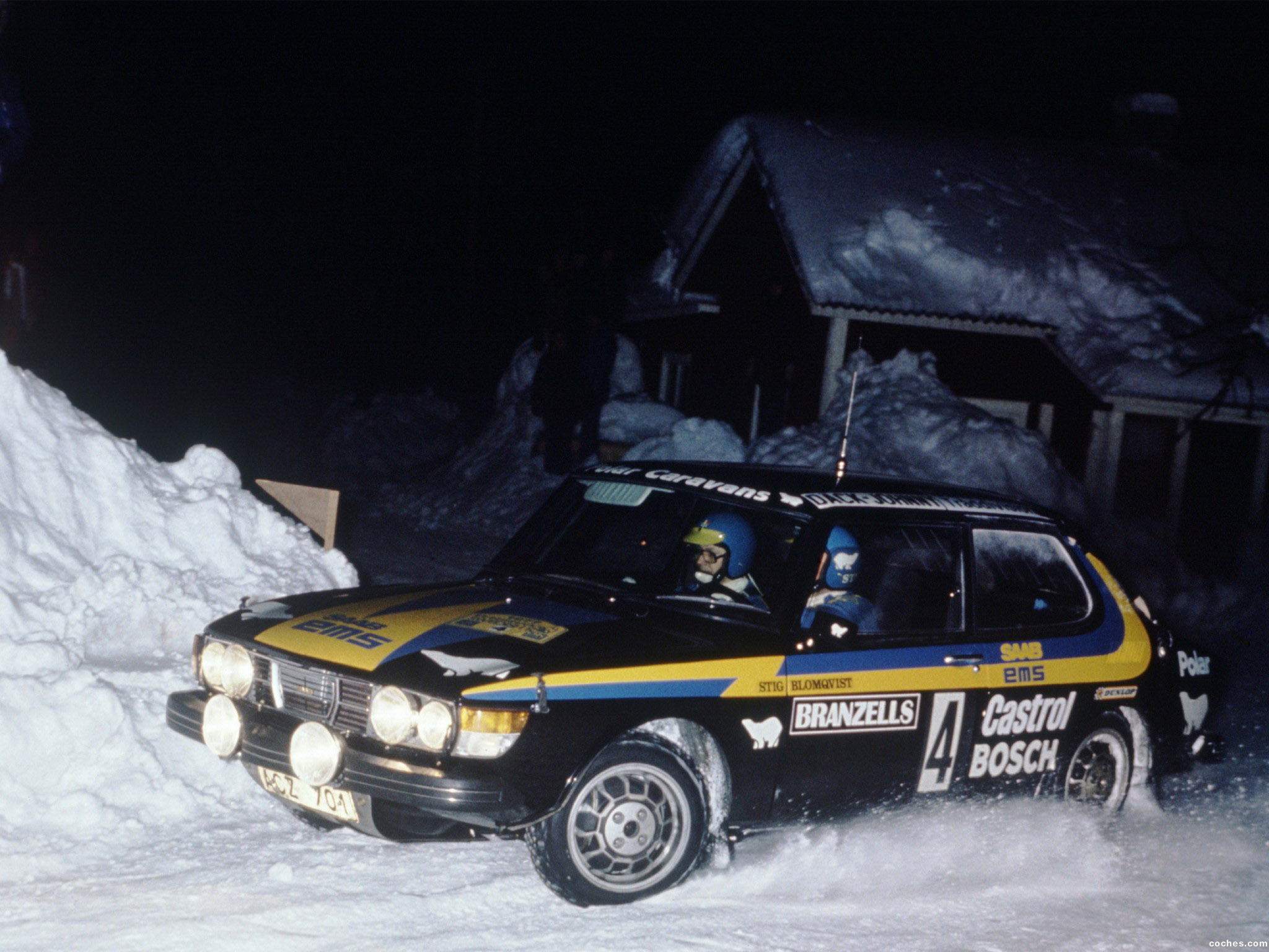 Foto 0 de Saab 99 Turbo Rally Car 1980