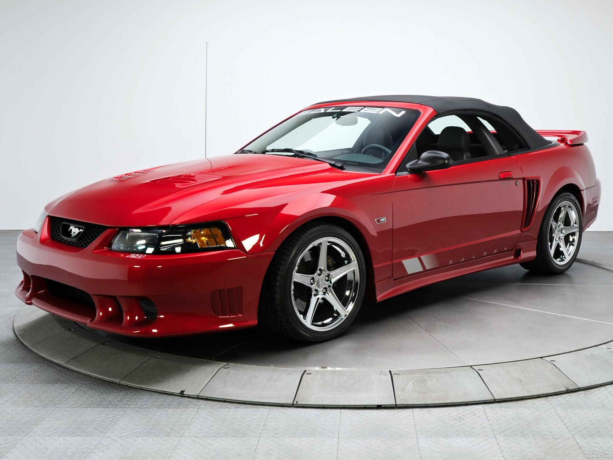 Foto 0 de Ford Saleen Mustang S281 SC Eextrime Speedster 2003