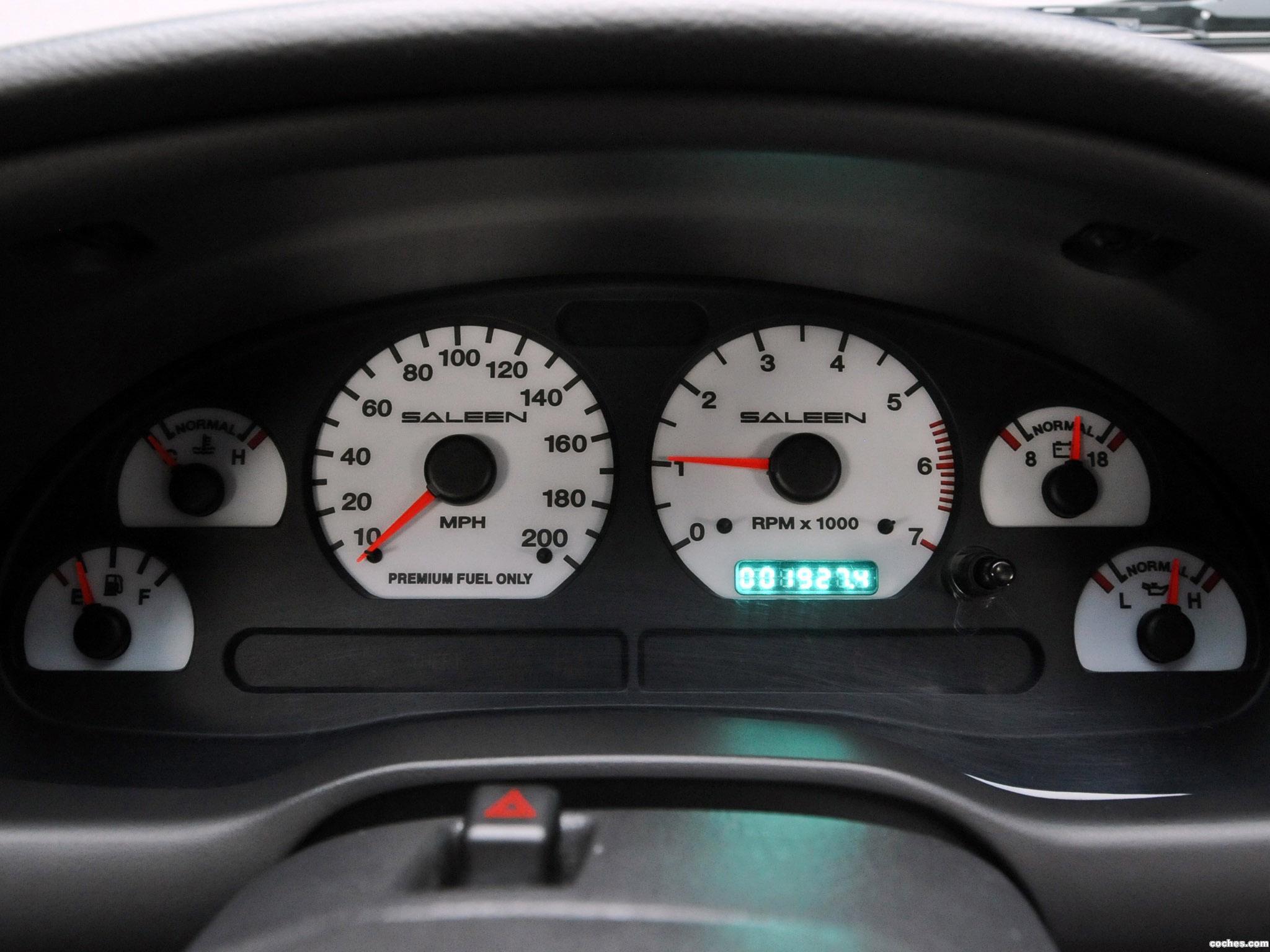 Foto 8 de Ford Saleen Mustang S281 SC Eextrime Speedster 2003