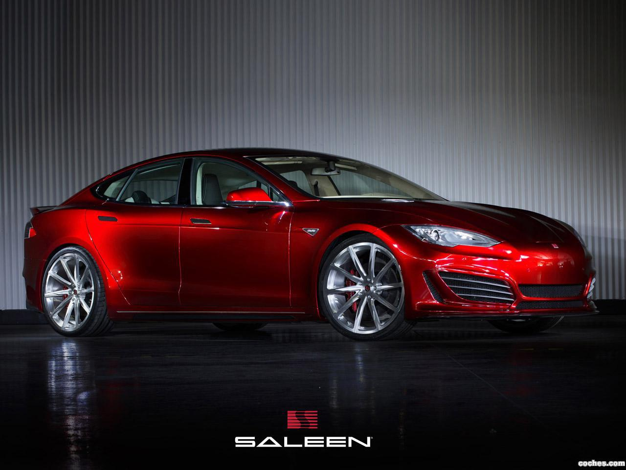 Foto 0 de Saleen Tesla Model S FOURSIXTEEN 2014