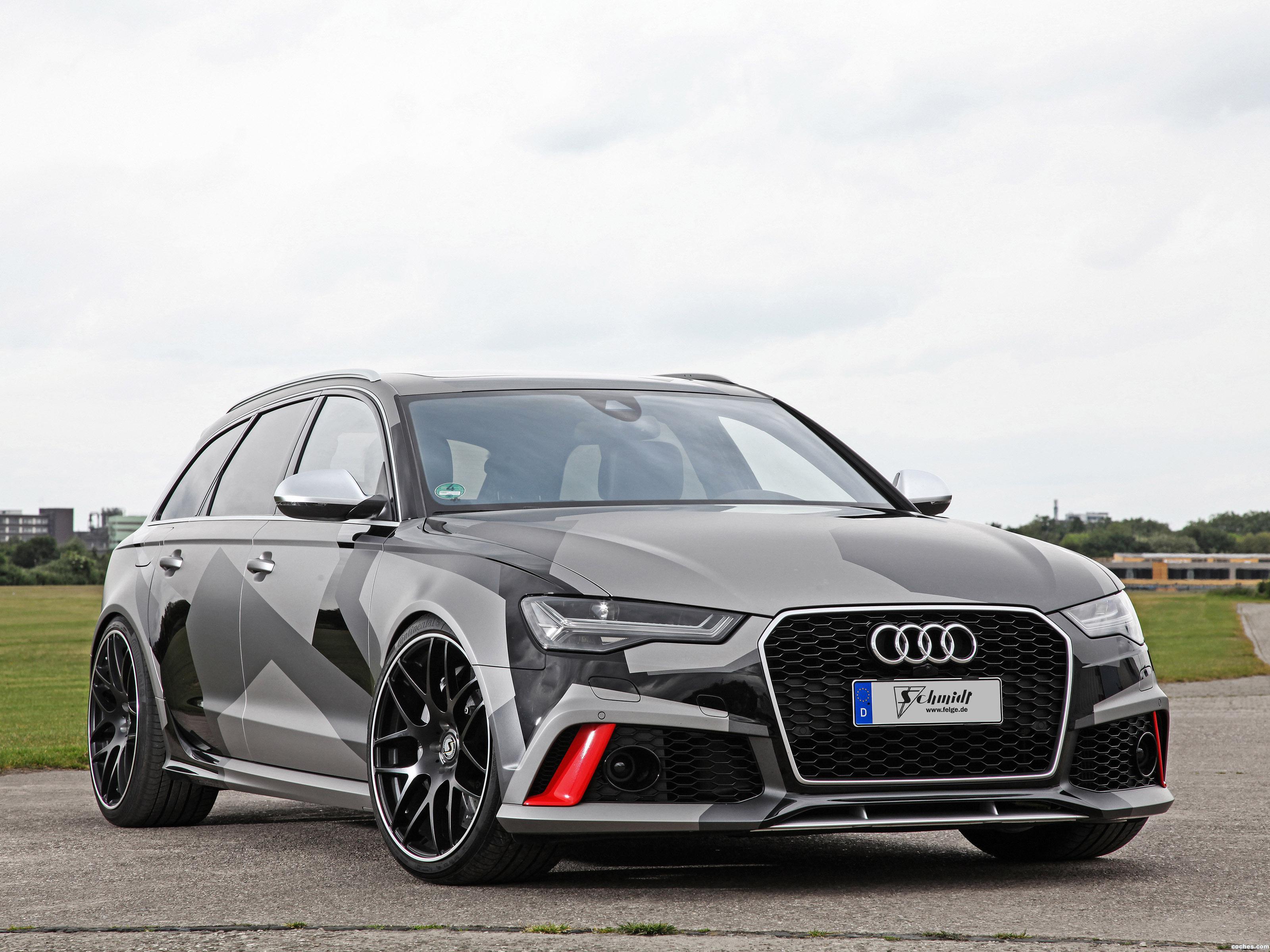 Foto 0 de Schmidt Revolution Audi RS6 Avant 2015