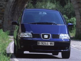 Ver foto 7 de Seat Alhambra 2000