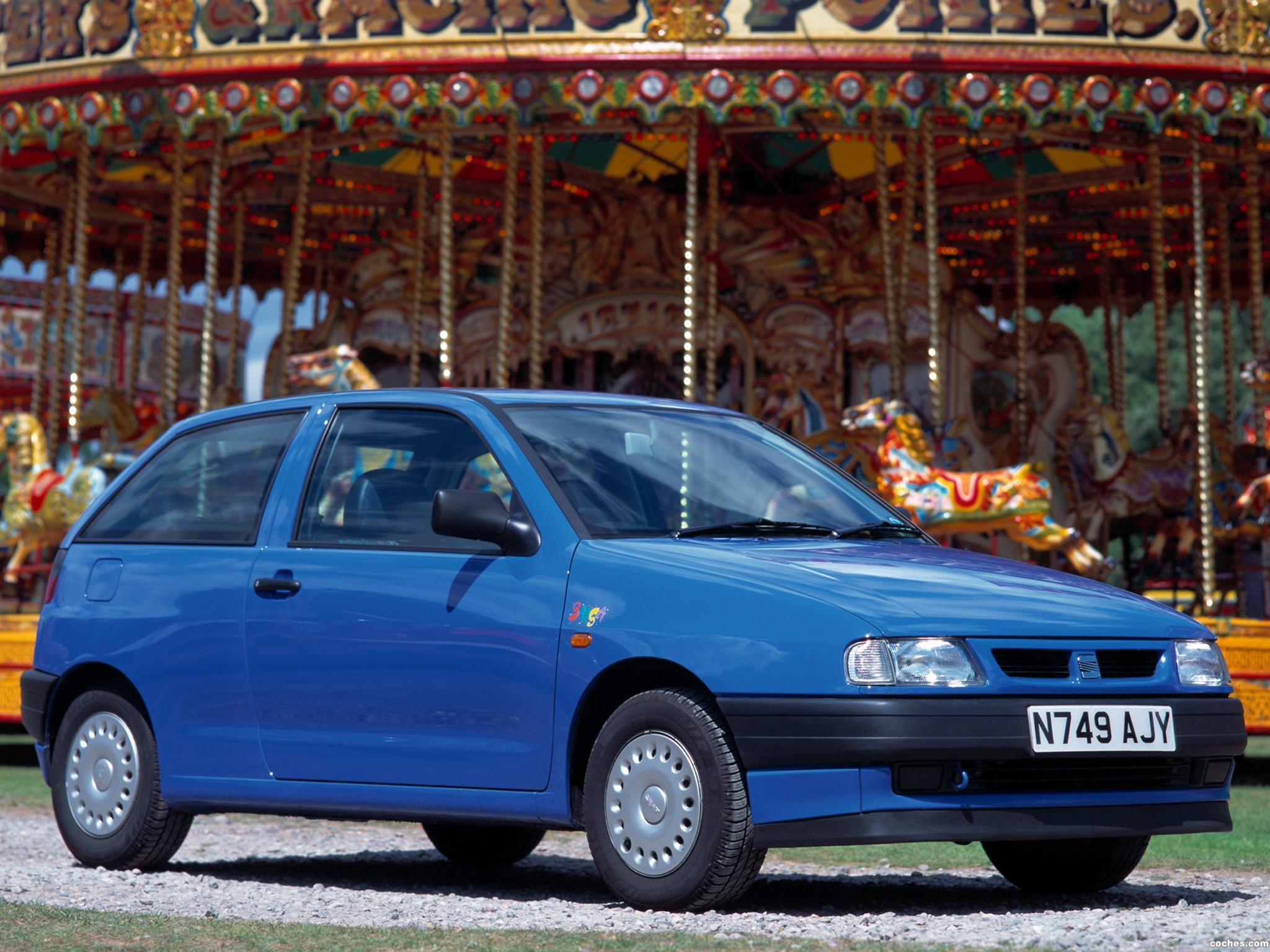 Foto 0 de Seat Ibiza 3 puertas UK 1993