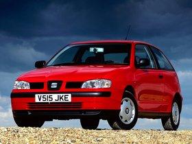 Fotos de Seat Ibiza 3 puertas UK 1999